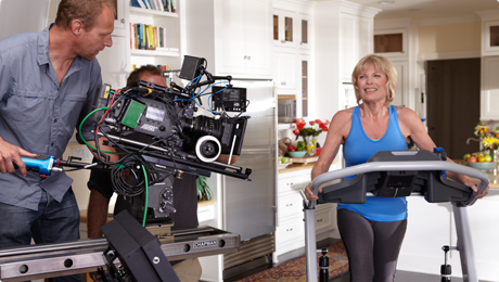 Filming a TreadClimber Commercial