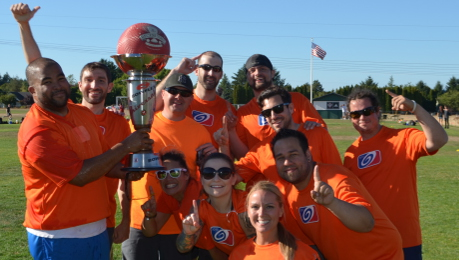 Nautilus Employees Kickball Team
